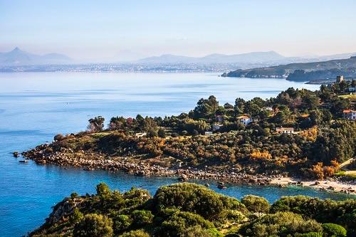 the scopello coastal landscape