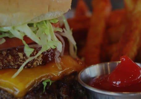 Guy Fieri's The Ringer Burger