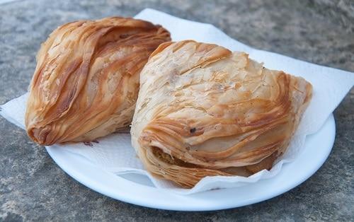 pastizzi, a popular maltese pastry