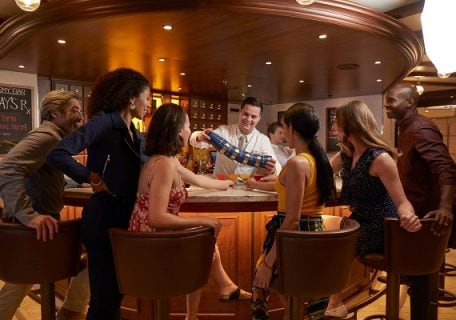 Best Bars and Lounges Onboard Carnival Radiance