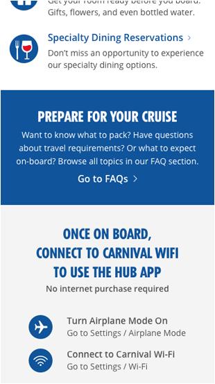 carnival hub app