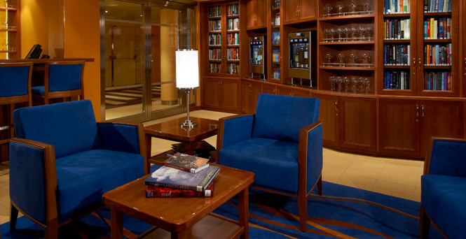 Becoming a connoisseur is as easy as pushing a button. (The Library Bar)