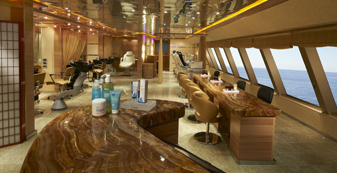 The Salon on Carnival Magic