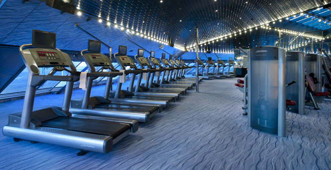 Fitness Center on Carnival Magic