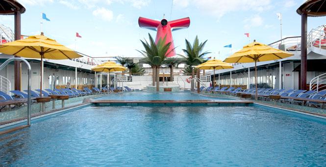 Carnival Pools, Cruise Pools