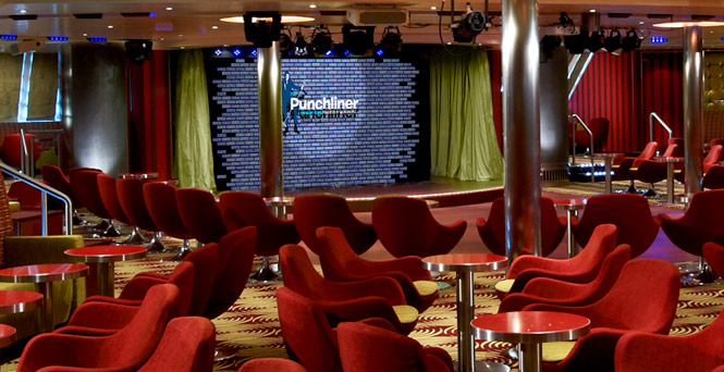 Punchliner Comedy Club Cruise Bars And Lounges Carnival