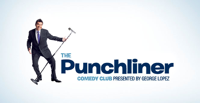 Ready for grande laughs? (The Punchliner Comedy Club, Presented By George Lopez)