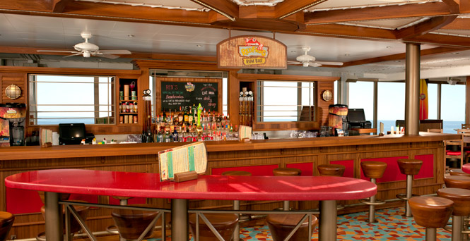 Hop on over for a mojito. (RedFrog Rum Bar)