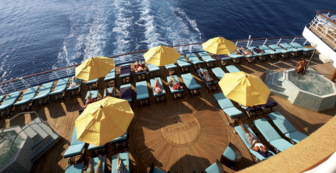 Serenity on Carnival Sunshine