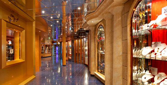Carnival Cruise Lines Store Items