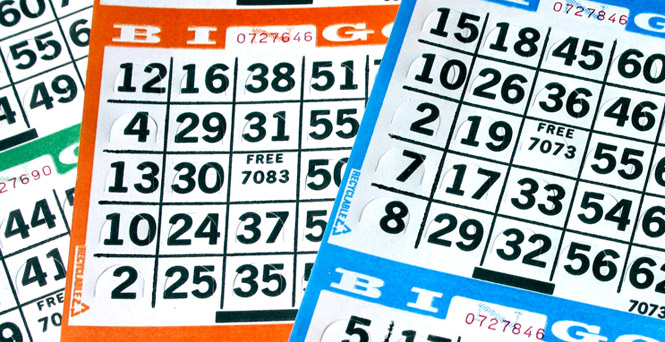 Big Bingo cards. Big Bingo fun.