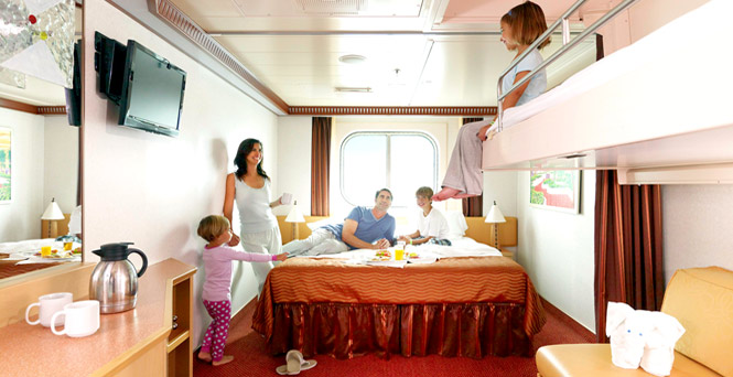 Ocean View Staterooms  Ocean View Cabins  Carnival Cruise Lines