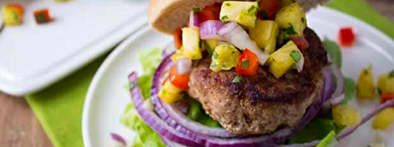 Jamaican Turkey Burger - Cruise Burgers