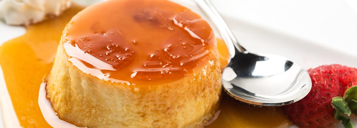 Coconut flan   From the Grapevine   Coconut Flan