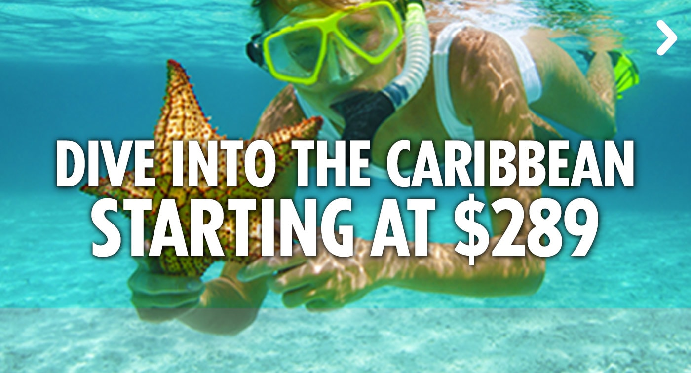 Dive Into the Caribbean - Starting At $289