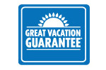 Carnival Great Vacation Guarantee logo