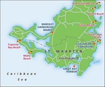 - St Maarten Port Map