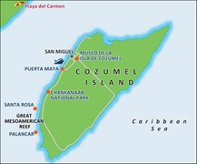- Cozumel Port Map