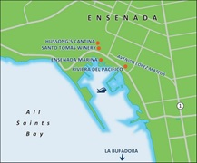 - Ensenada Port Map