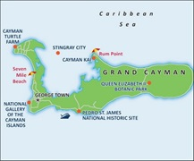 - Grand Cayman Port Map