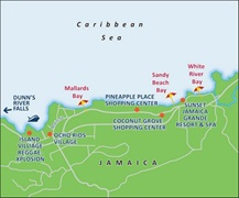 - Ocho Rios Port Map
