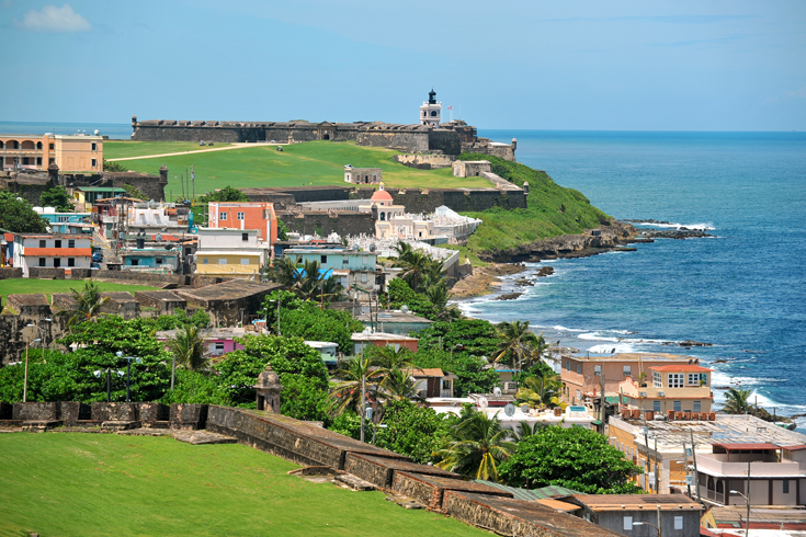 The 17th-century Castillo de San Felipe del Morro