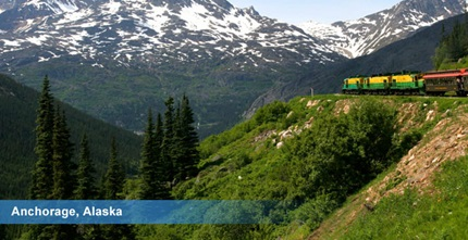 <h3>Anchorage, Alaska Cruise Train Excursions</h3><p>Anchorage, Alaska Cruise Train Excursions</p>