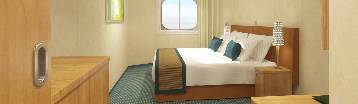 Carnival Breeze Interior with Picture Window (Walkway Views) Stateroom