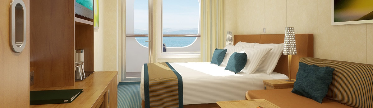 Carnival Breeze Cove Balcony Stateroom