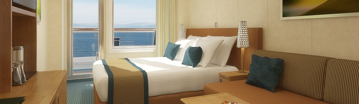Carnival Breeze Large Balcony Stateroom