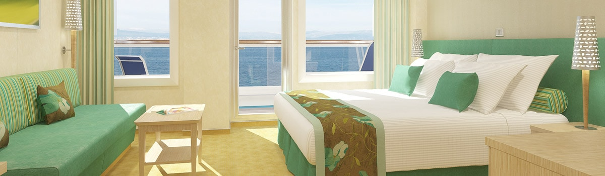 Carnival Breeze Cloud 9 Spa Suite