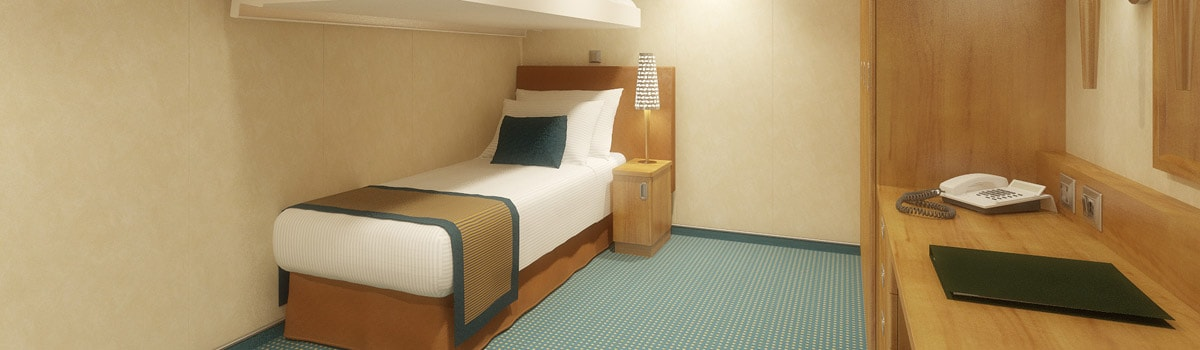 Carnival Breeze Interior Upper/Lower Stateroom
