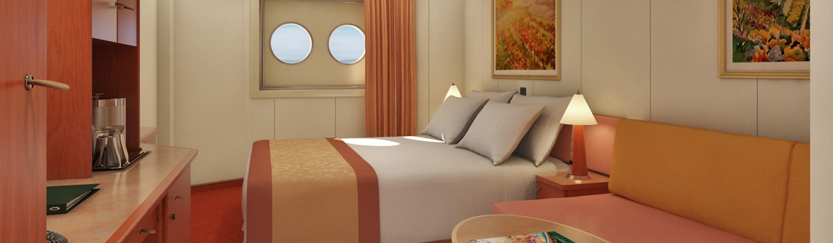 Carnival Conquest Porthole Stateroom