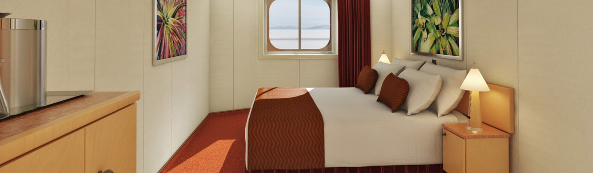 Carnival Dream Interior with Picture Window (Walkway Views) Stateroom