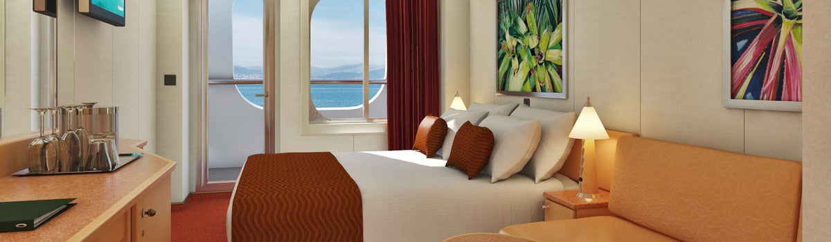 Carnival Dream Cove Balcony Stateroom
