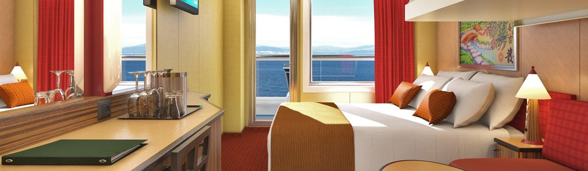 Carnival Dream Cloud 9 Spa Balcony Stateroom