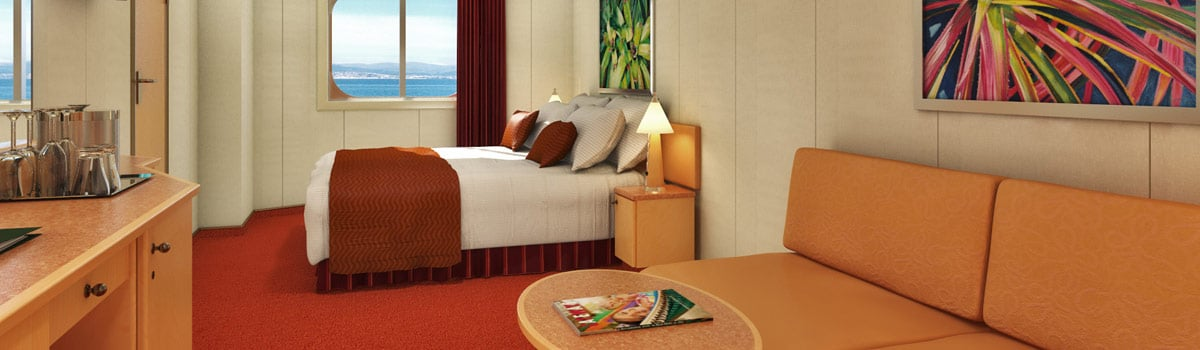 Carnival Dream Ocean View Stateroom