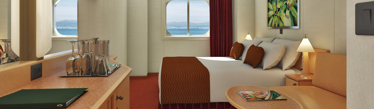 Carnival Dream Deluxe Ocean View Stateroom