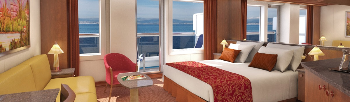 Carnival Dream Ocean Suite