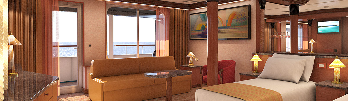 Carnival Ecstasy Grand Suite