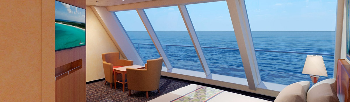 Carnival Elation Scenic Ocean View Stateroom