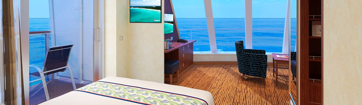 Carnival Elation Grand Vista Suite