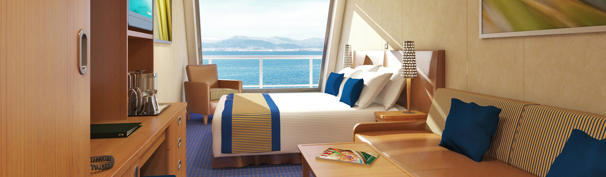 Carnival Freedom Scenic Ocean View Stateroom