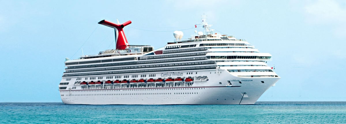 Carnival Freedom  Freedom Cruise Ship  Carnival Cruise Line