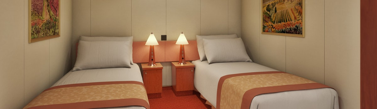 Carnival Glory Interior Stateroom