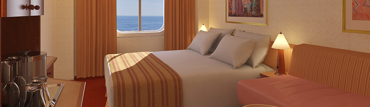 Carnival Legend Ocean View Stateroom