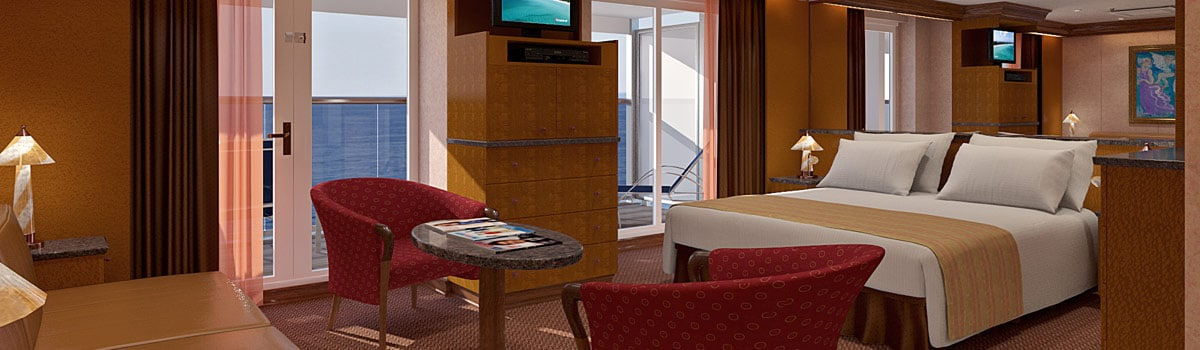 Carnival Legend Grand Suite