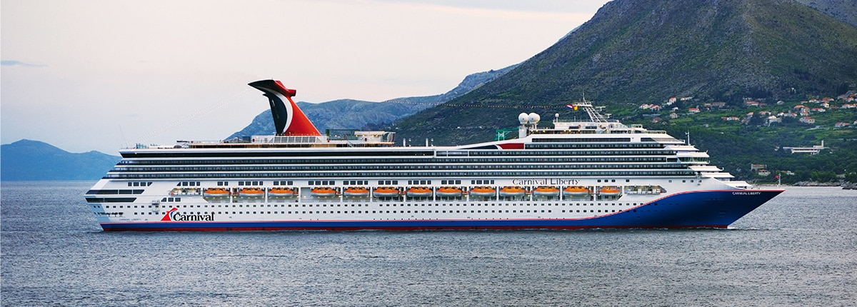 Carnival Liberty Deck Plans Activities Sailings Carnival