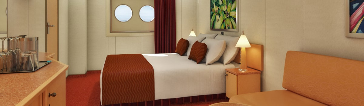 Carnival Magic Porthole Stateroom