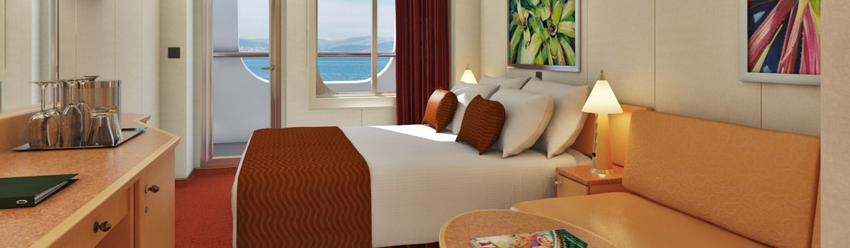 Carnival Magic Cove Balcony Stateroom
